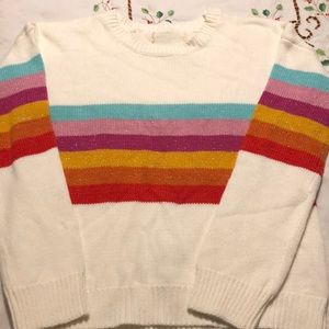 Other - Girls' rainbow sweater